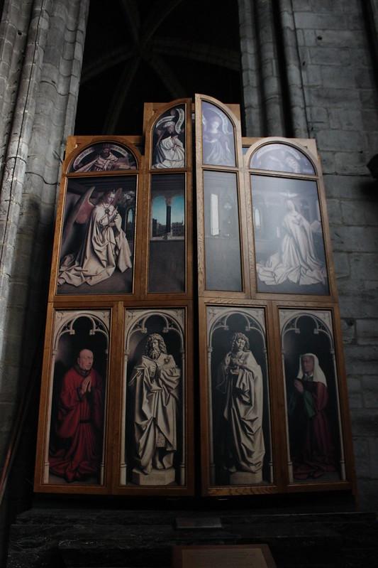 Retablo 'Adoración Cordero Místico' - Van Eyck