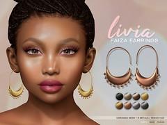 LIVIA // Faiza Earrings