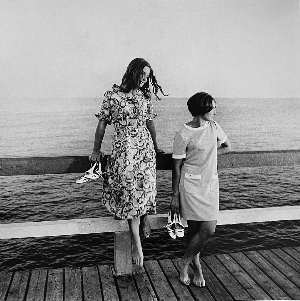 1964. На мосту. Паланга