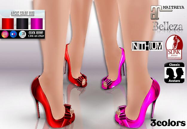 ::AC:: Graci Heels - MAITREYA/KUPRA/LEGACY/SLINK/BELLEZA