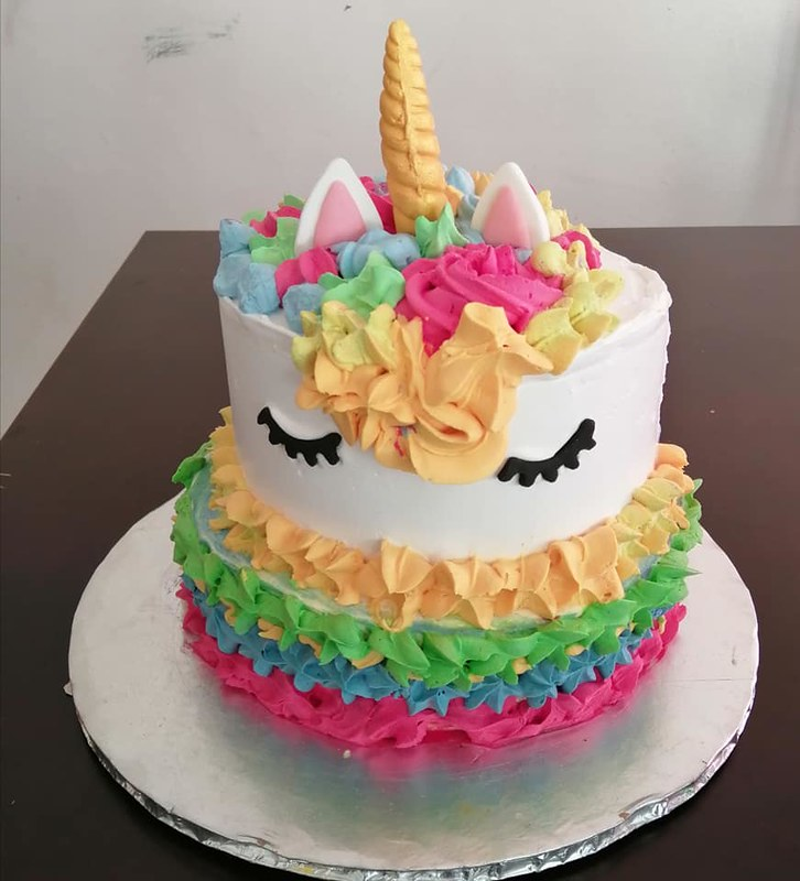 Unicorn Cake by Melonic Bakes and Treats