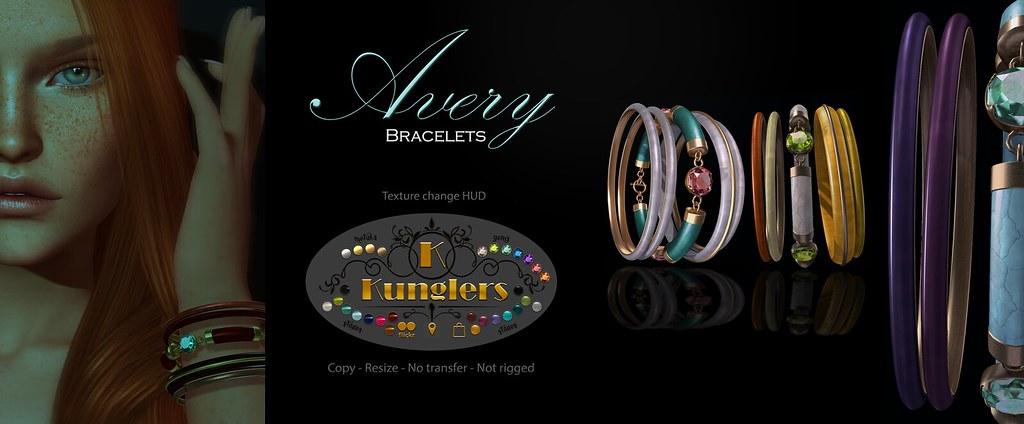 KUNGLERS – Avery bracelets