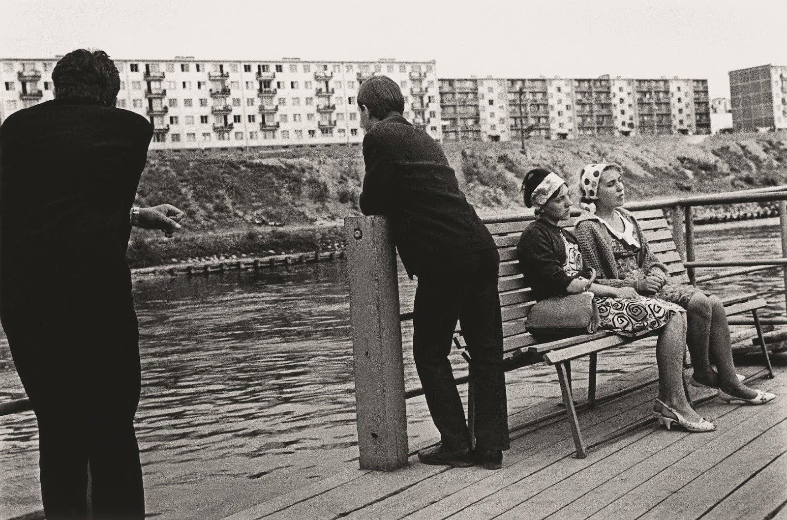 1964. Паром Жирмунай-Антакальнис