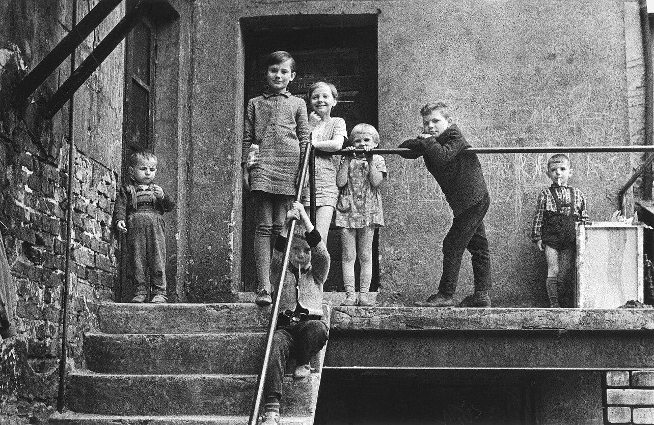 1964. Клайпеда. Дети старого города
