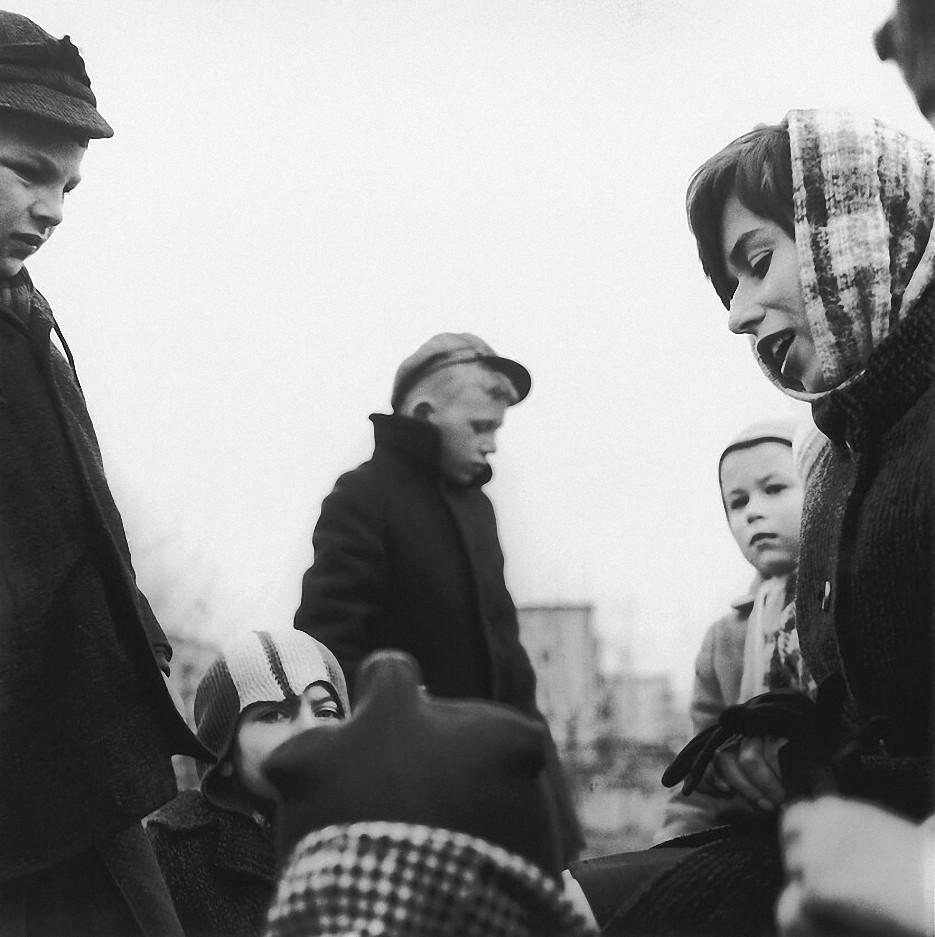 1964. Вильнюс. На улице