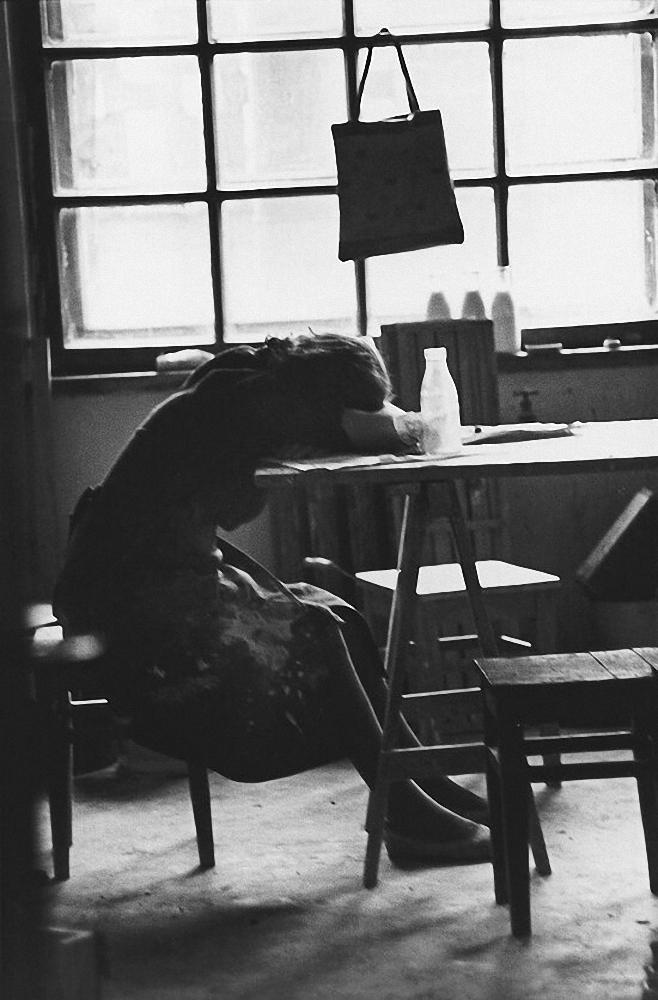 1963. Каунас. Обед на фабрике