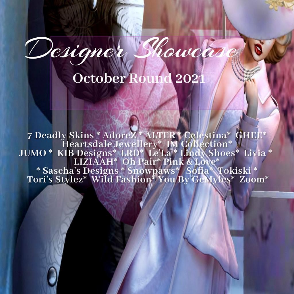 Designer Showcase -October Round -2021
