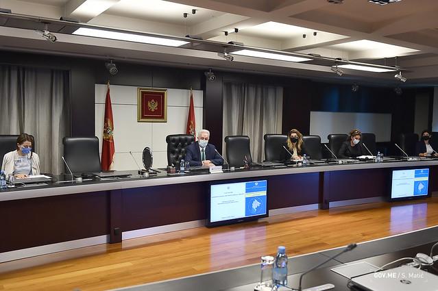 Sjednica Savjeta za praćenje izrade Prostornog plana Crne Gore (05.10.2021.)