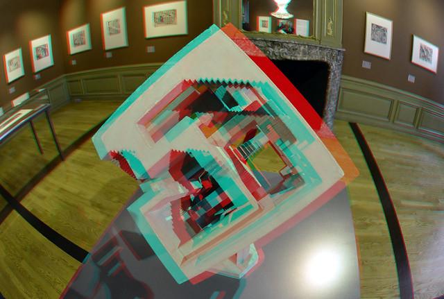 ESCHER Museum The Hague 3D Fish-eye
