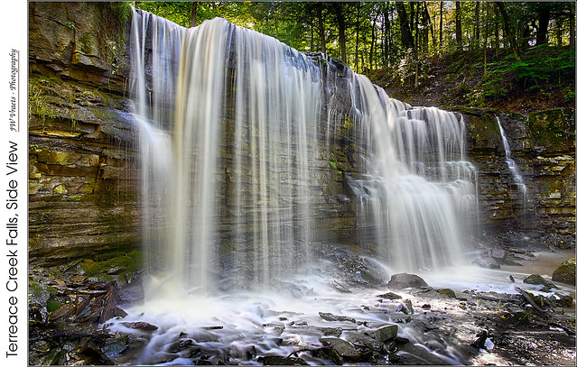 Terrace Creek Falls, Side View