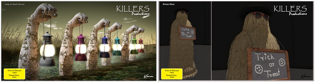 """""""Killer's"""" Lamp In Hand & Broom Ghost @ Cosmopolitan Event Starts From 5th October"""