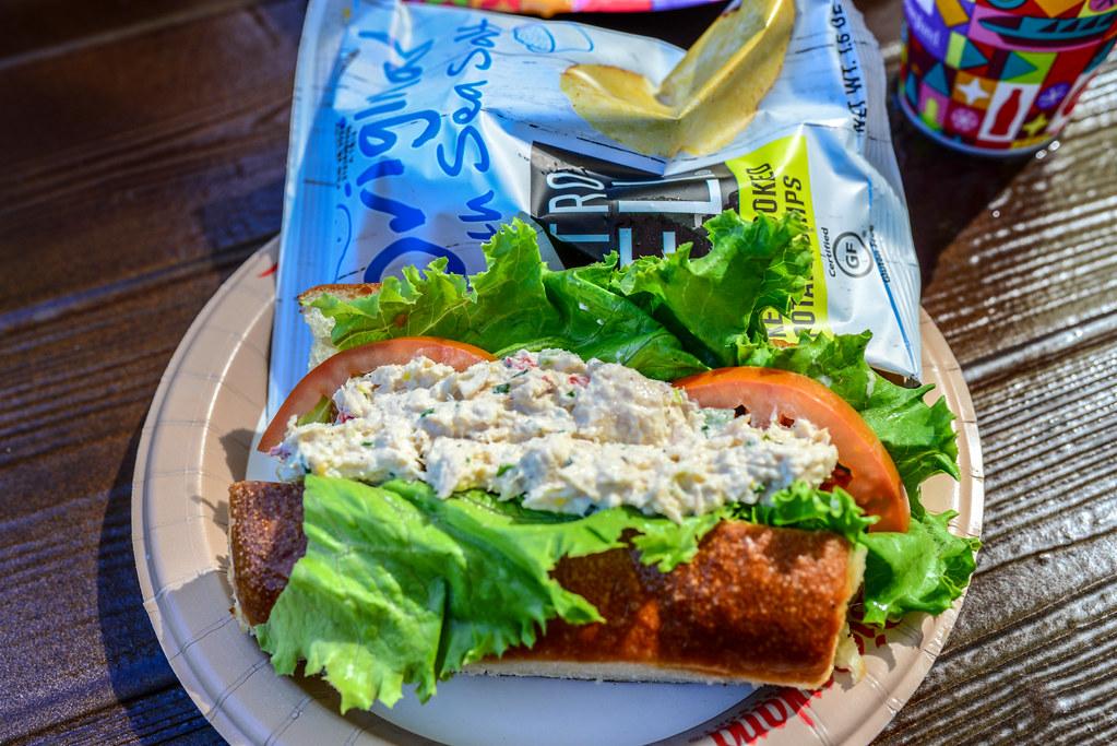 Tuna sandwich Harbour Galley DL