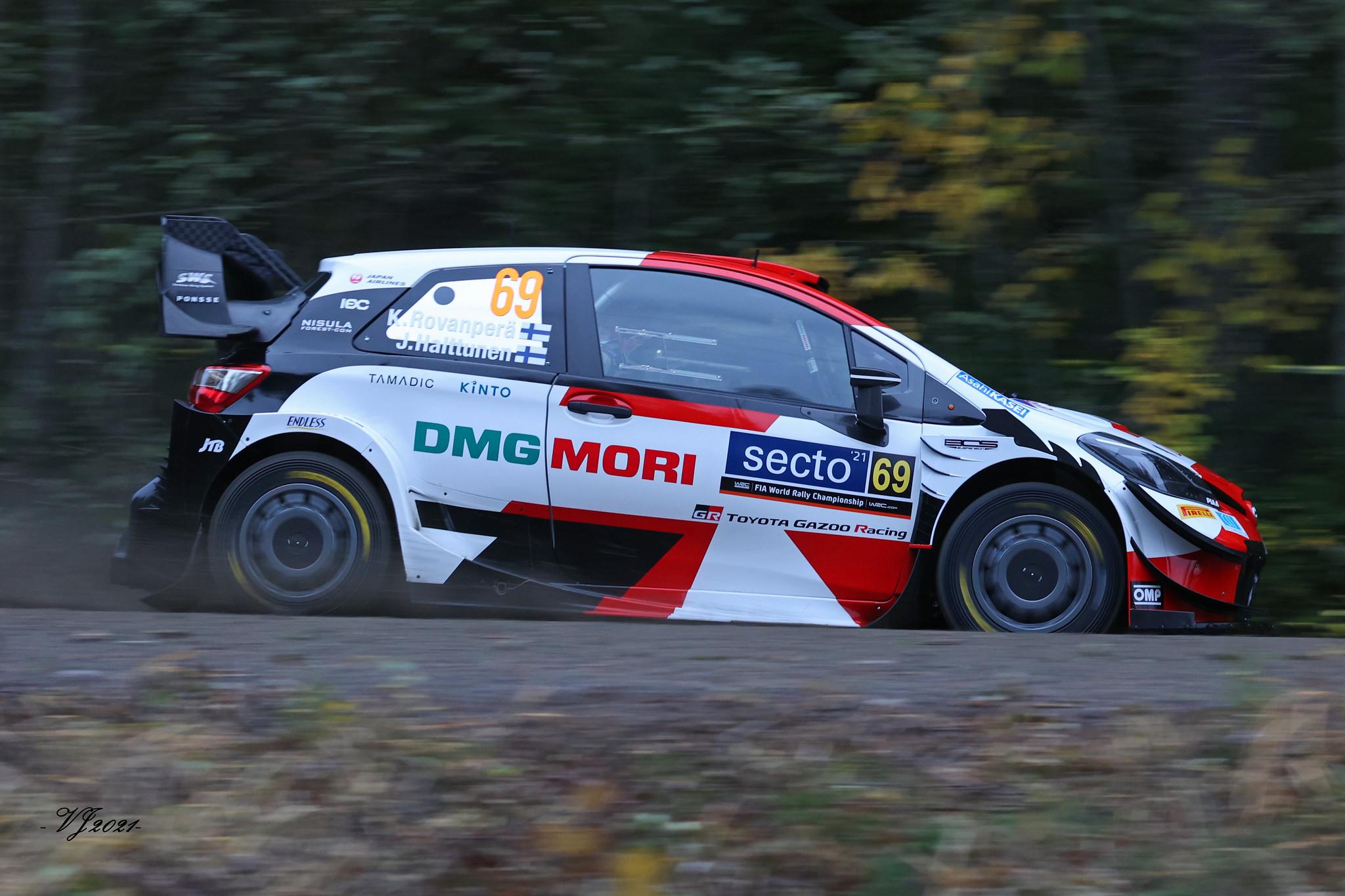 Kalle Rovanperä, Toyota Yaris WRC
