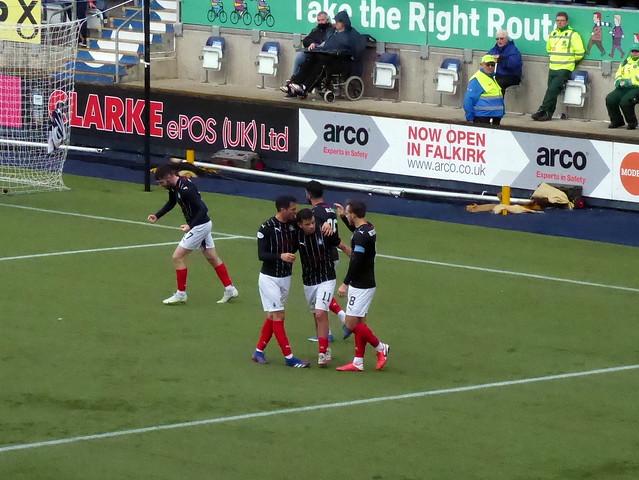 Falkirk v East Fife (SPFL League 1)