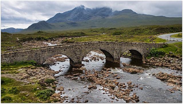 Old Sligachan Bridge, Isle of Skye. Scotland.