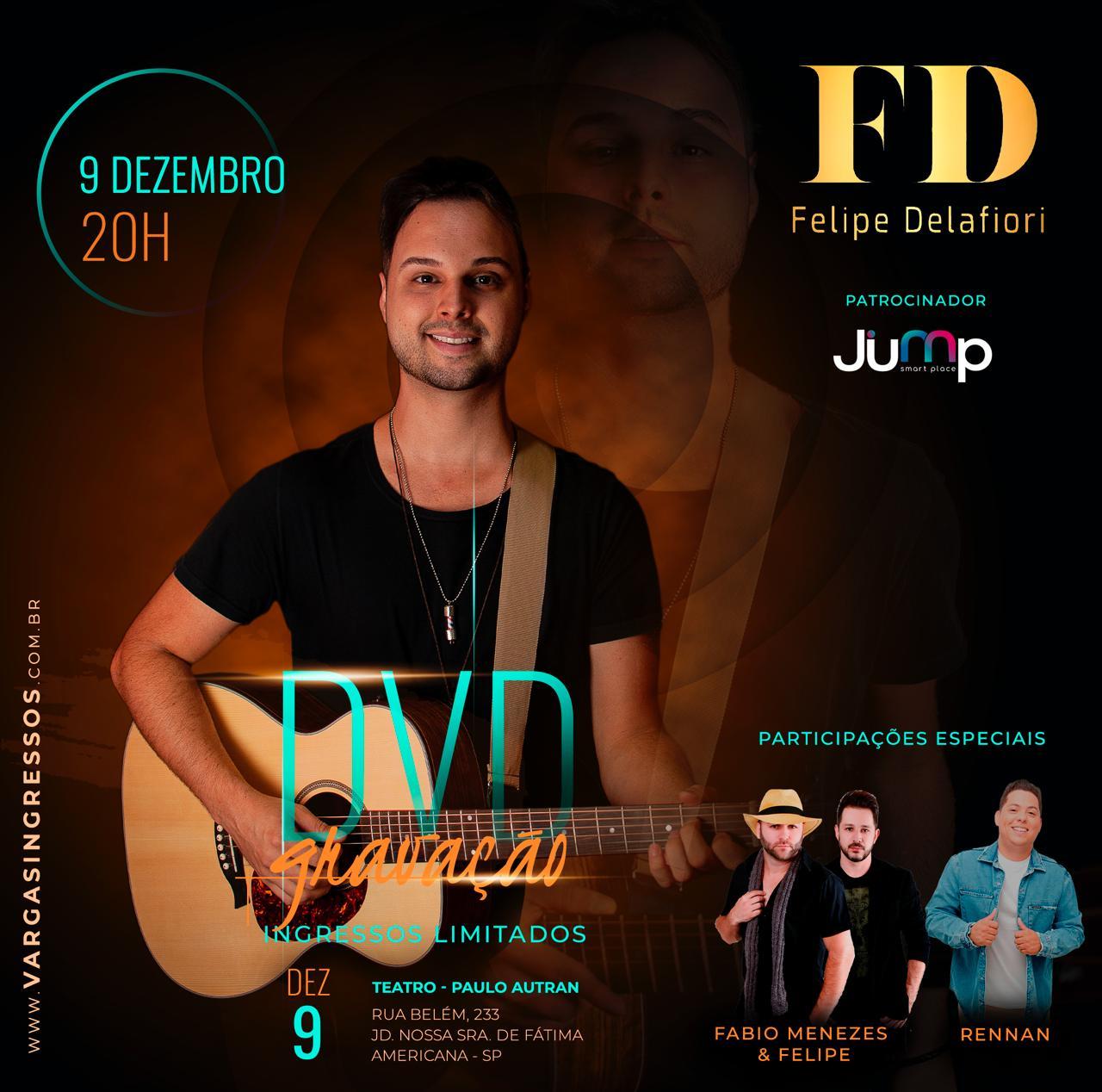 Gravação DVD Felipe Delafiori