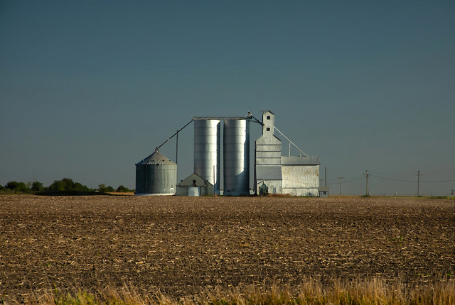 Farm. Western Kansas.