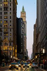 Dusk On Broadway