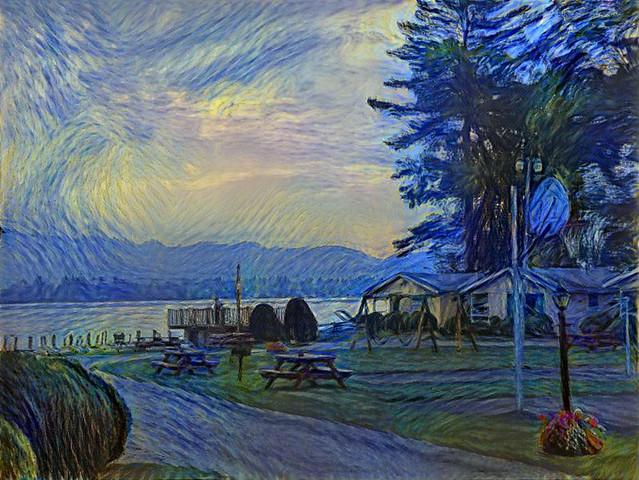 Early Morning Lake George