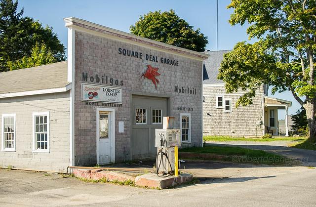 Square Deal Garage / Stonington, Maine