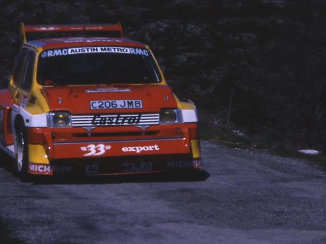 MG Metro 6R4 – Rallye des Garrigues 1986