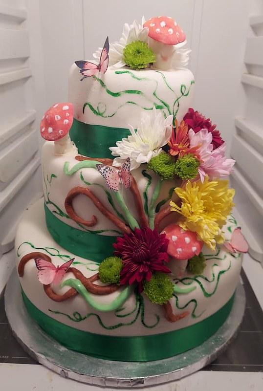 Cake by Nicky's Little Cake Shop