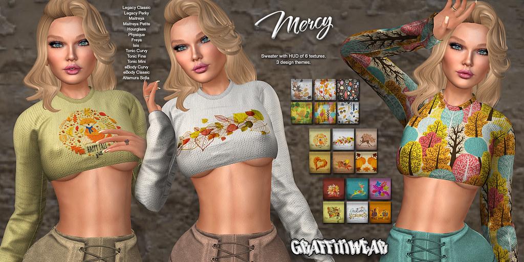 Mercy Sweater Ad