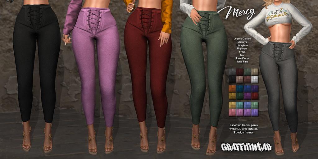 Mercy Pants Ad