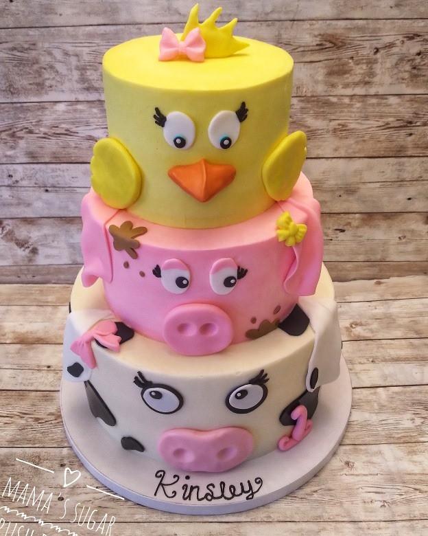 Cake by Mama's Sugar Rush Bakery