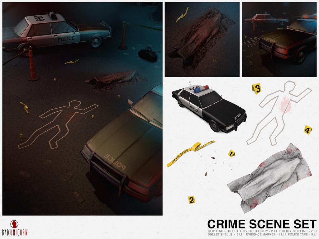 NEW! Crime Scene Set @ TMD