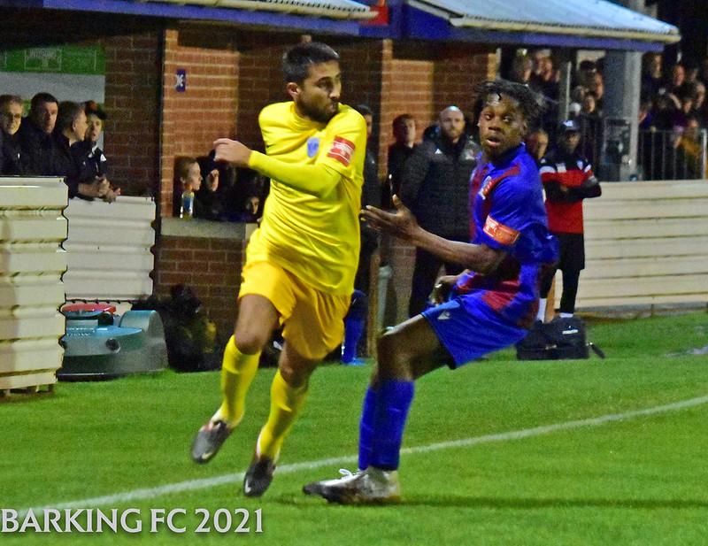 Maldon & Tiptree FC v Barking FC - Tuesday October 5th 2021