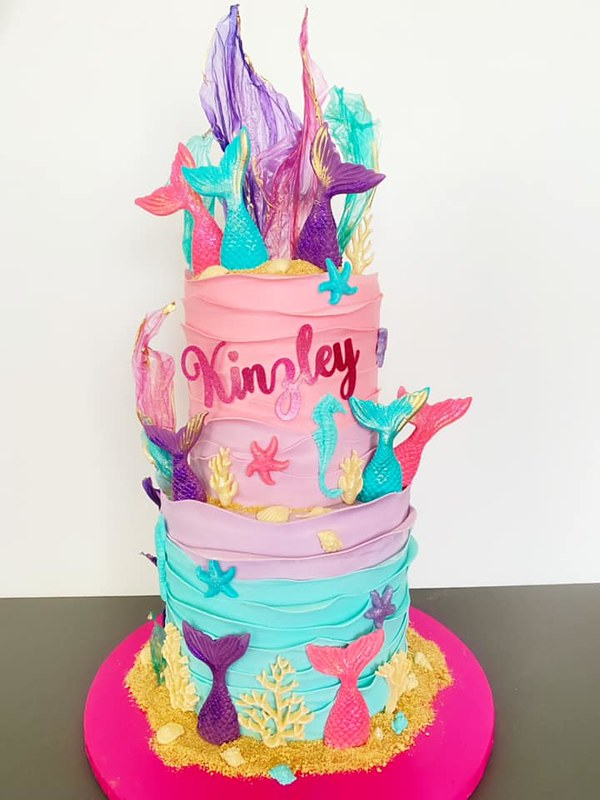 Cake by Pink City Cake Studio
