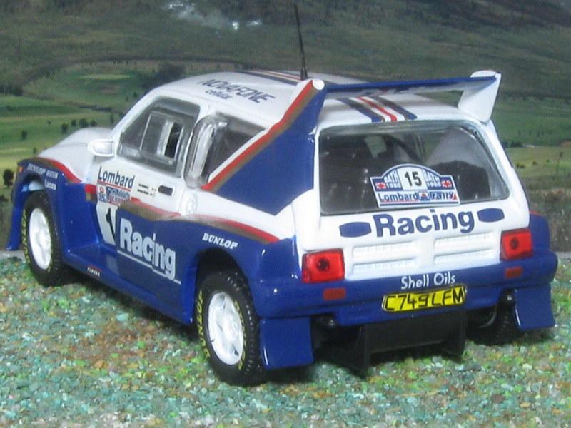 MG Metro 6R4 – RAC 1986