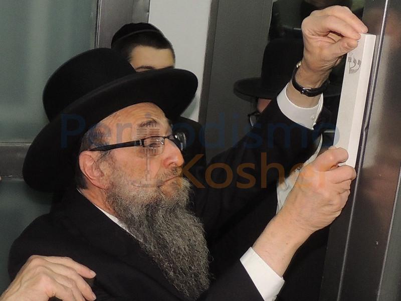 Ohel Moshe / Brajá: Inauguración del edificio Beit Abraham