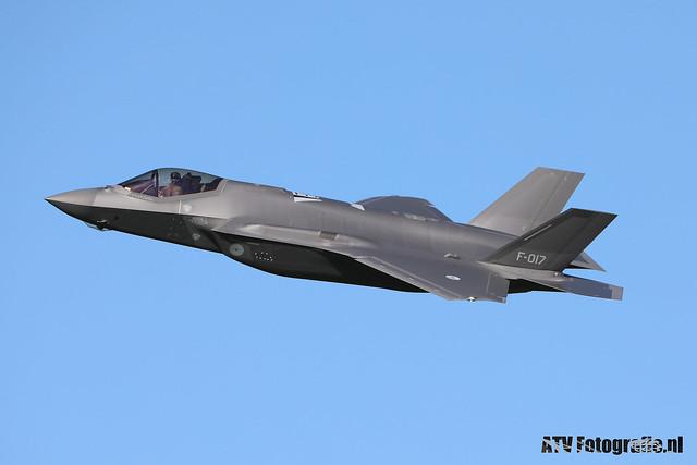 RNLAF F35 F-017
