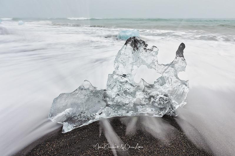 Crashing ice