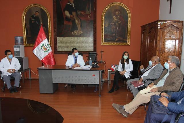 Universidad de San Martín de Porres realizó entrega de equipos médicos al Hospital Nacional Arzobispo Loayza