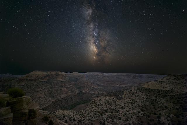 Stars Illuminate the Canyon