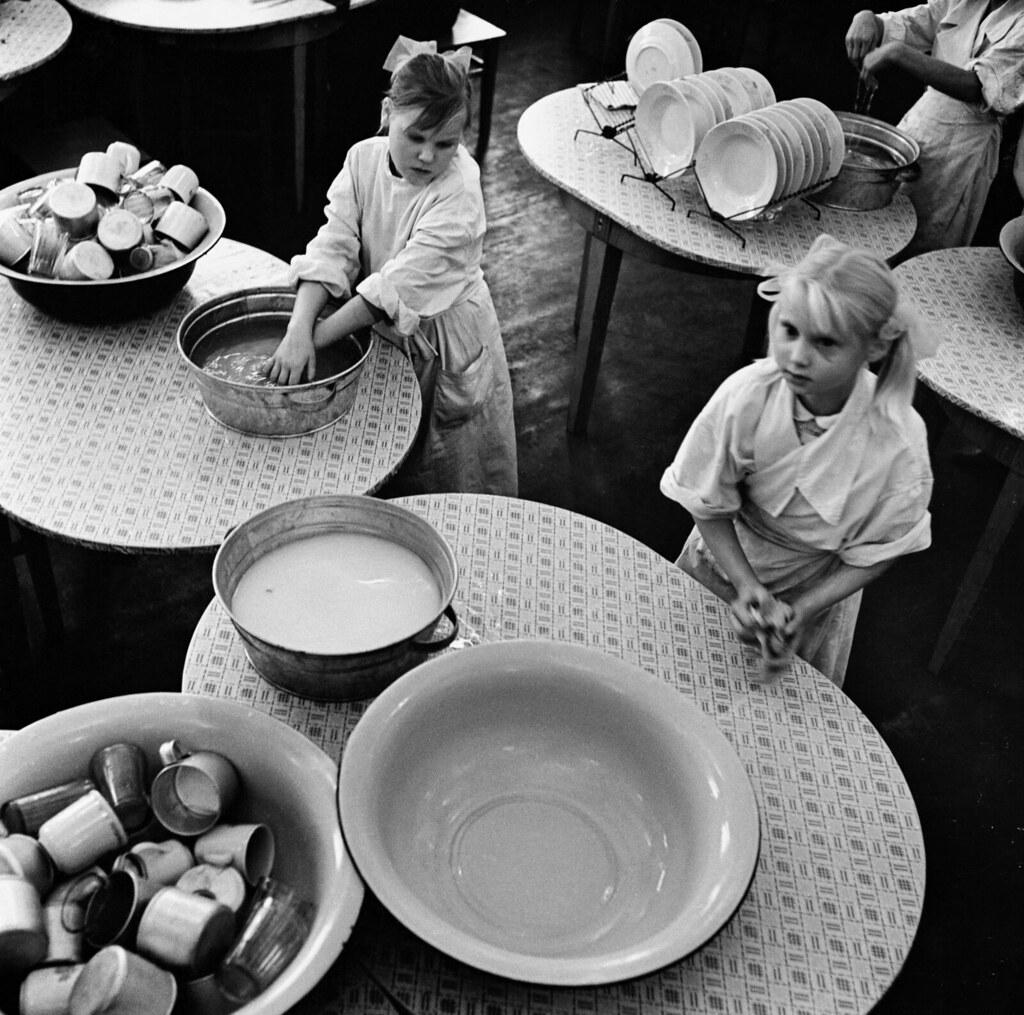 1962. Школа для слепых. Кухня. Каунас