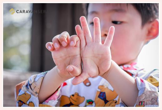 独特な数え方をする4歳の男の子