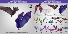 SEmotion Libellune Happy Bat Animesh