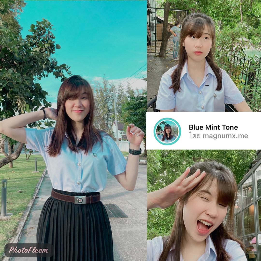 ฟิลเตอร์ไอจี คุมโทนชุกนักศึกษา โทนสี Blu mint