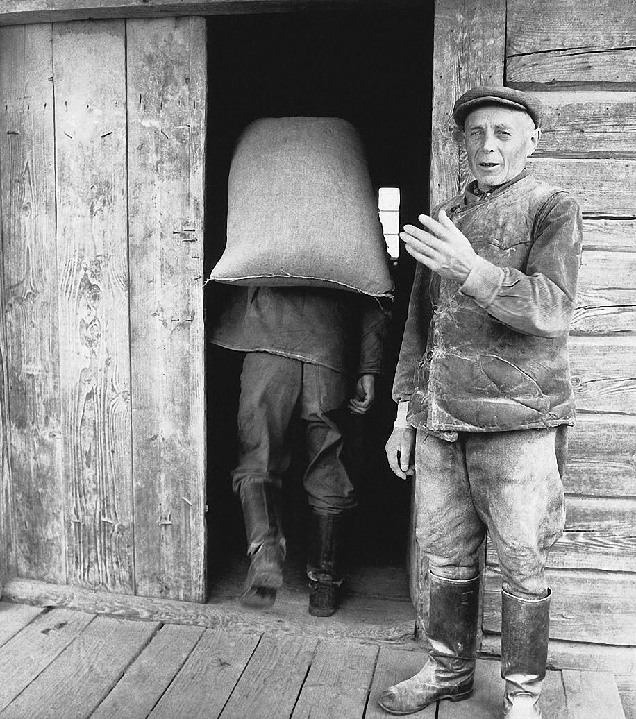 1965. На мельнице