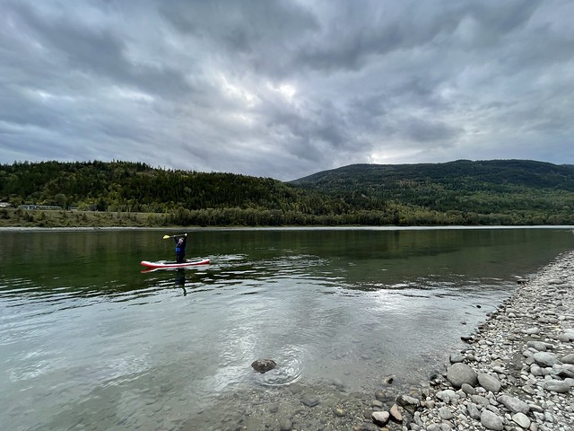 SUP on the Columbia River