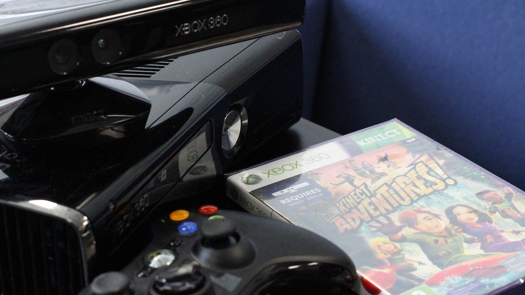 X Box Kinect gaming system