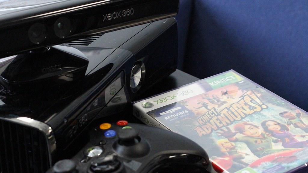 X Box Kinect游戏系统