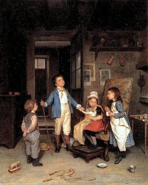 André Henri Dargelas, el mejor pintor de la infancia feliz