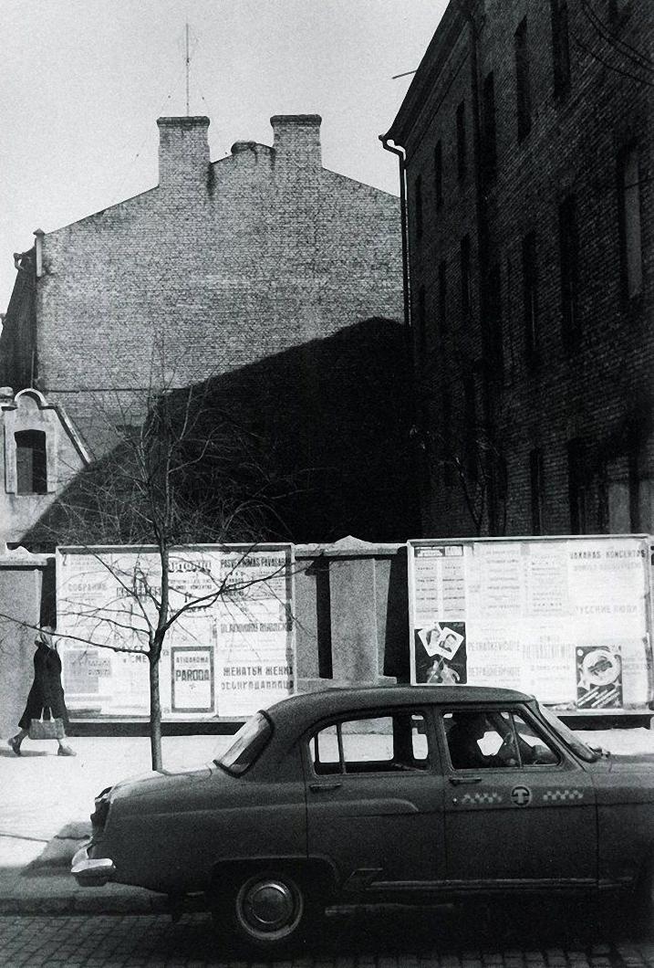 1965. Вильнюс. Такси