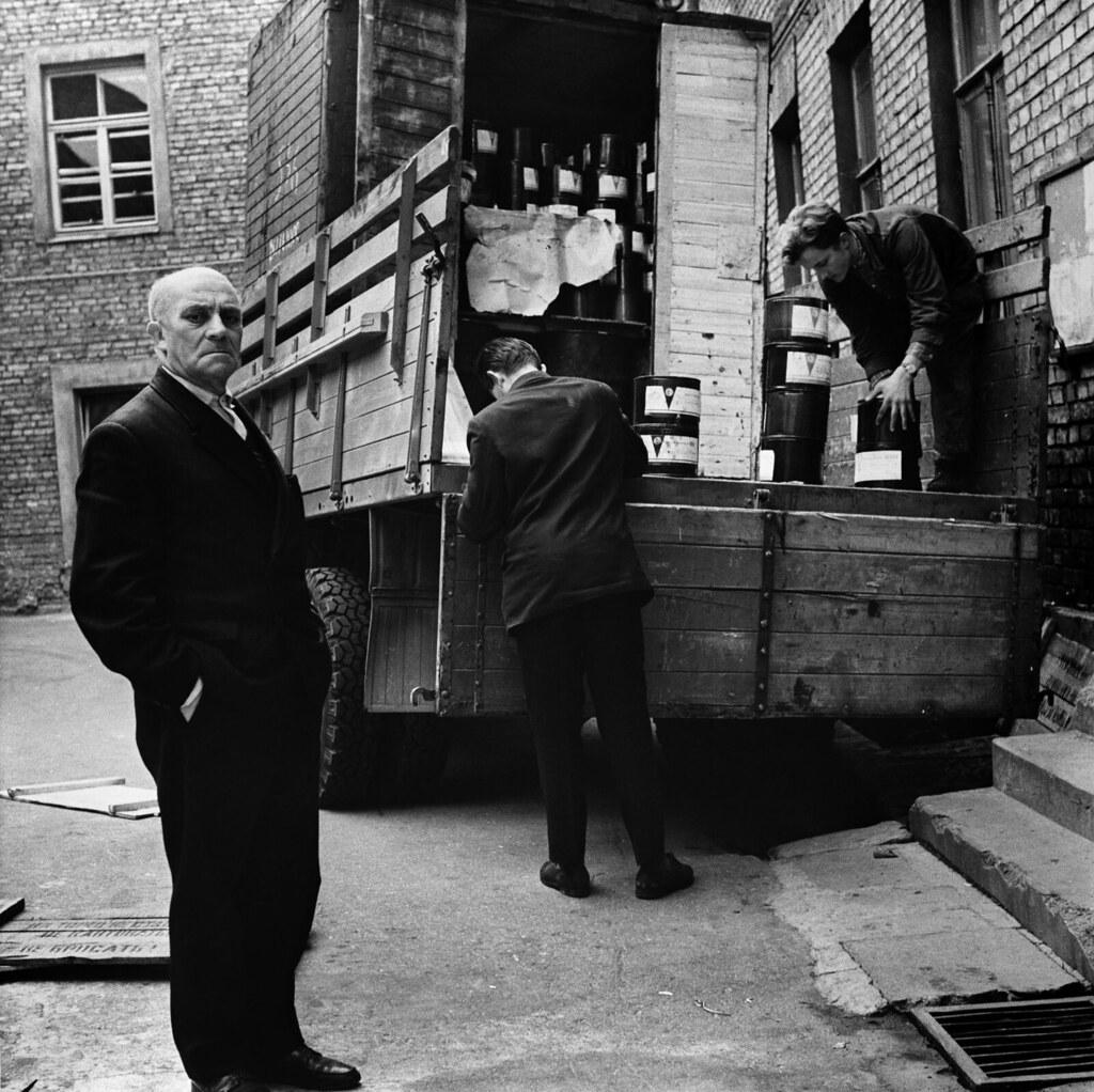 1961. Вильнюс. Домоуправ