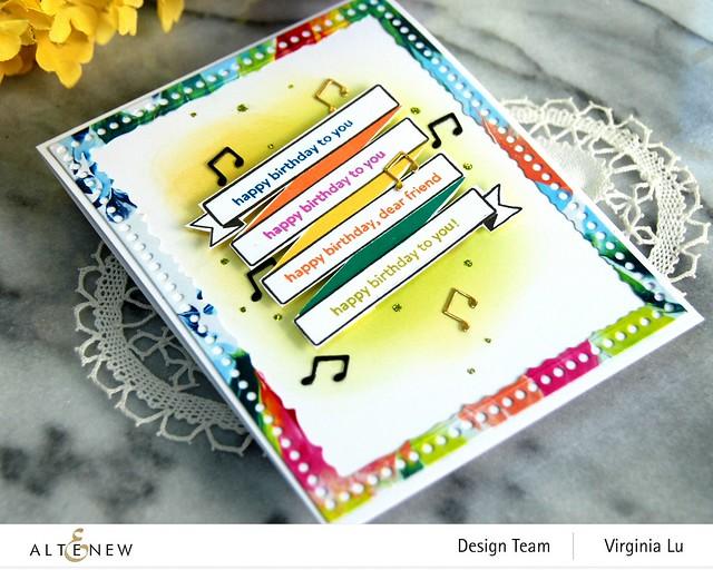 Altenew-MD Birthday Banner-Mix & Match Frame Die -002